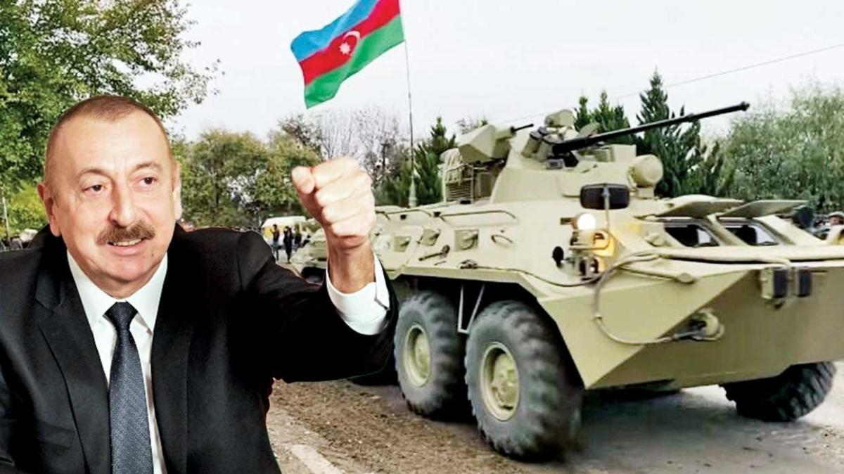 Azerbaycan lideri Aliyev: Ermeni faşizmini tamamen kırdık