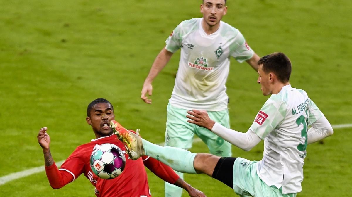 Bayern Münih, Werder Bremen'e takıldı