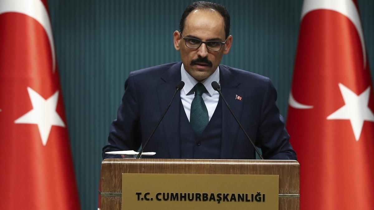 Cumhurbaşkanlığı Sözcüsü Kalın'dan kritik Brüksel ziyareti sonrası ilk açıklama