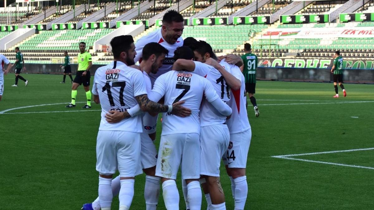 Gaziantep FK çıkışını sürdürdü: 1-0