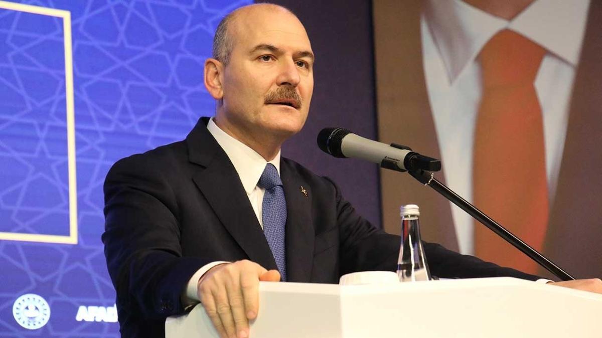 İçişleri Bakanı Süleyman Soylu: 2021'i Afet Eğitim Yılı ilan ettik