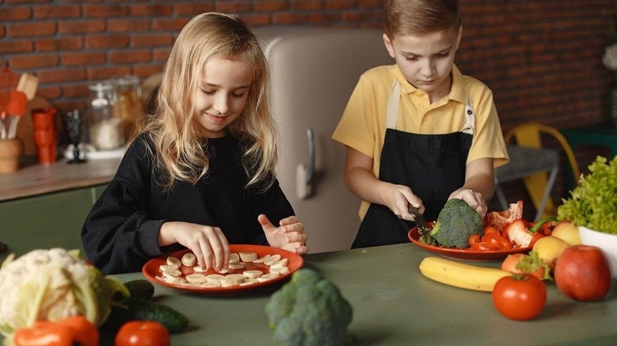 Mutfaktaki vakti çocuk etkinliğine dönüştürün