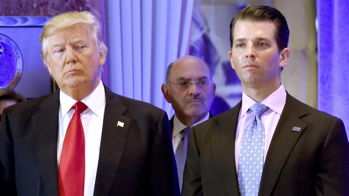 Trump'ın oğlu koronavirüse yakalandı