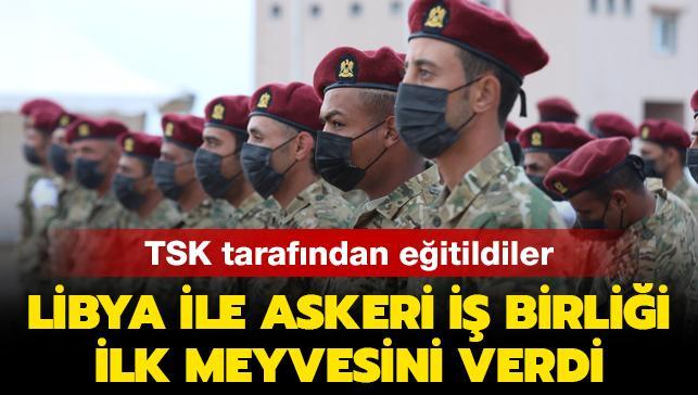 TSK tarafından eğitilen Libyalı askeri öğrenciler ilk mezunlarını verdi