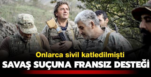 Karabağ'da Fransız çeteler