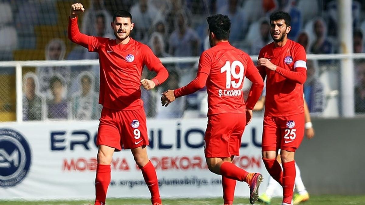 Ankara Keçiörengücü Akhisarspor'u farklı devirdi
