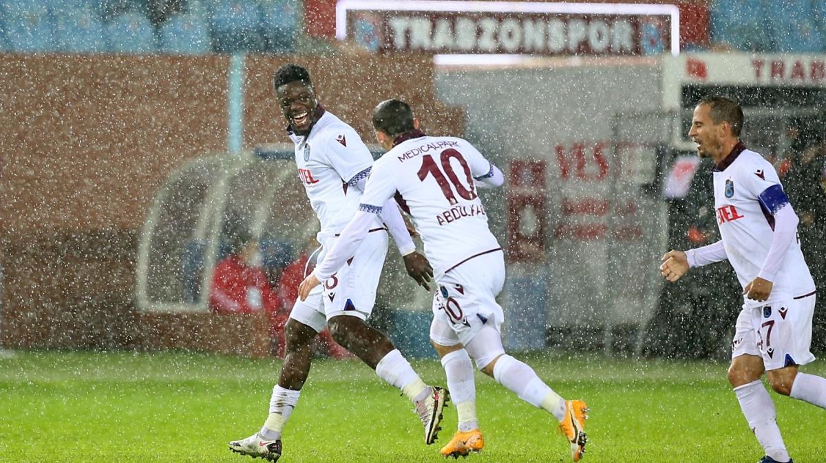 Avcı'lı Trabzonspor ilk maçında hata yapmadı: 1-0