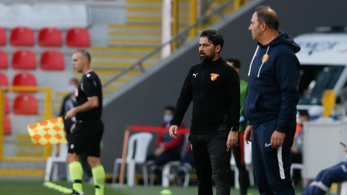 Göztepe - MKE Ankaragücü maçının ardından