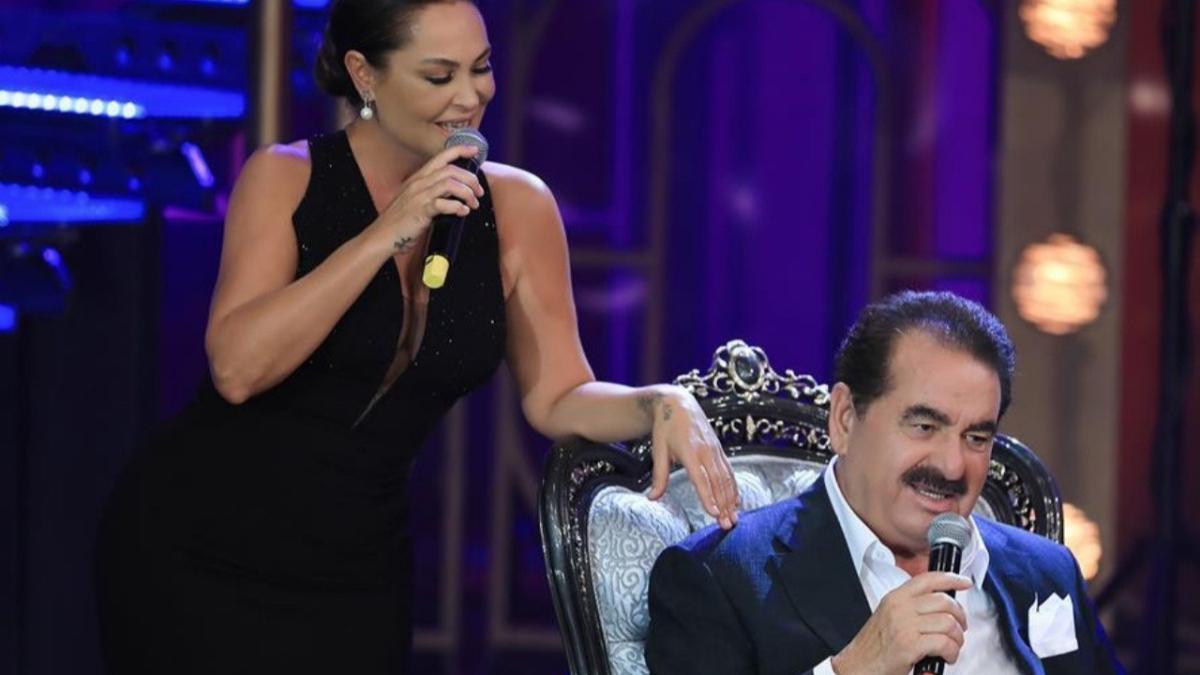 İbo Show'da İbrahim Tatlıses ve Hülya Avşar düeti geceye damga vurdu