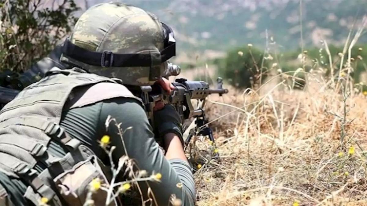 Irak'ın kuzeyinde 2 Barış Pınarı bölgesinde 4 terörist etkisiz hale getirildi