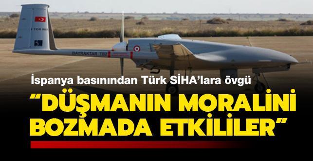"""İspanya basını: """"Türk SİHA'ları gökyüzünün yeni sahipleri"""""""
