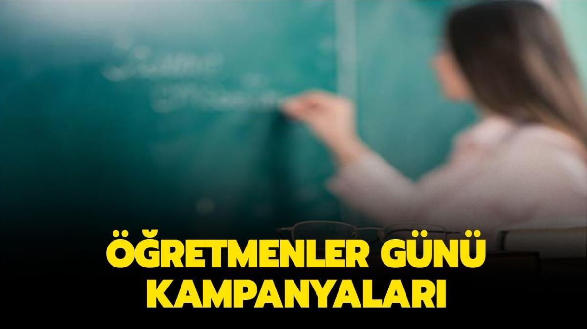 """24 Kasım Öğretmenler Günü kampanyaları neler"""" Öğretmene özel indirimler neler"""""""