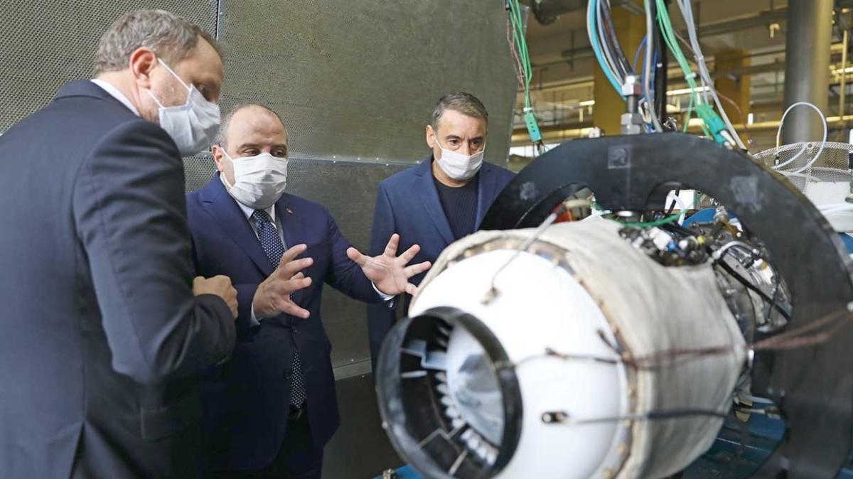 Ambargoyu yenecek milli turbojet motoru hazır
