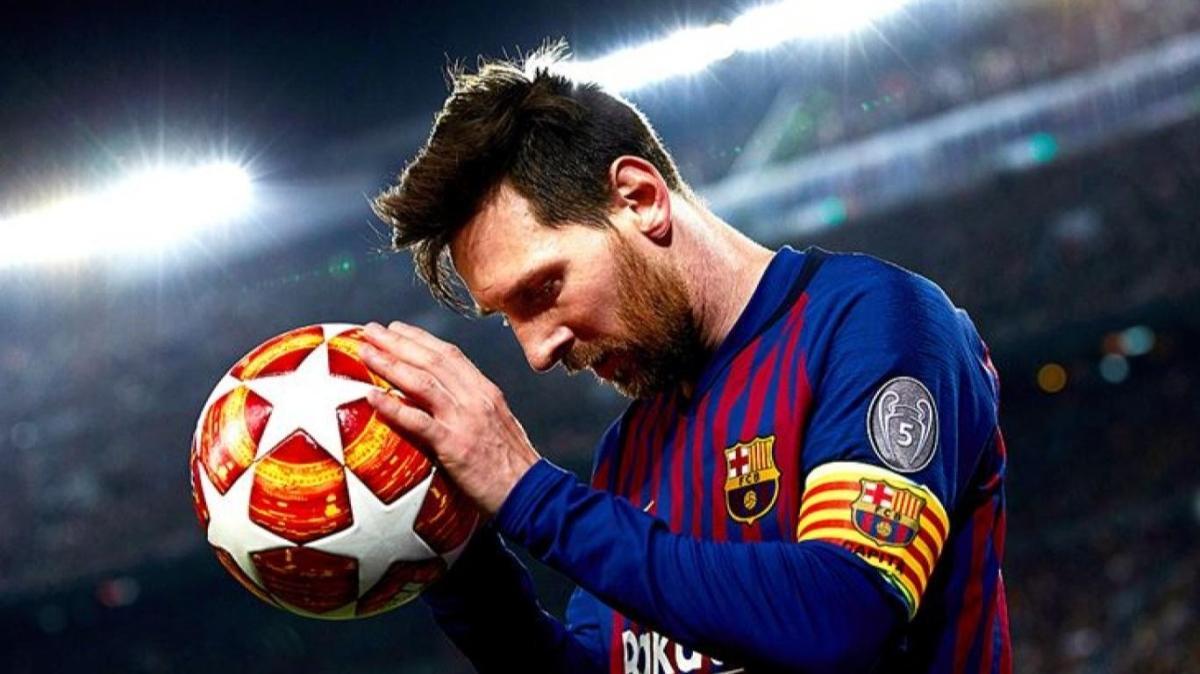Barcelona'da Messi kadro dışı bırakıldı
