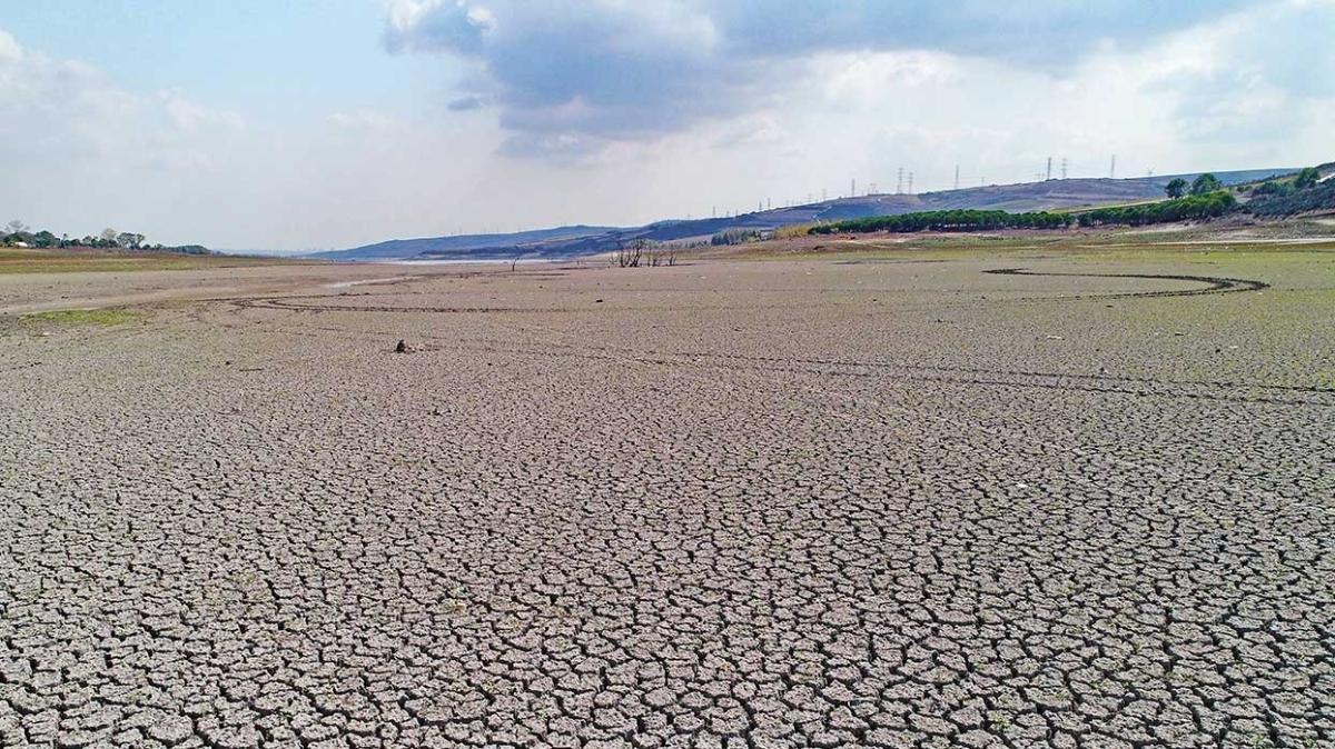 İstanbul'un 80 günlük suyu kaldı