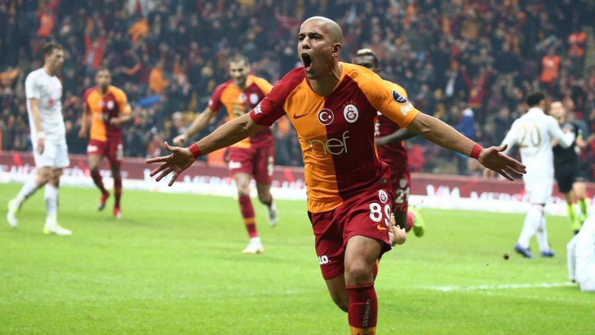 Kayserispor maçında Galatasaray'ın en büyük silahı Feghouli