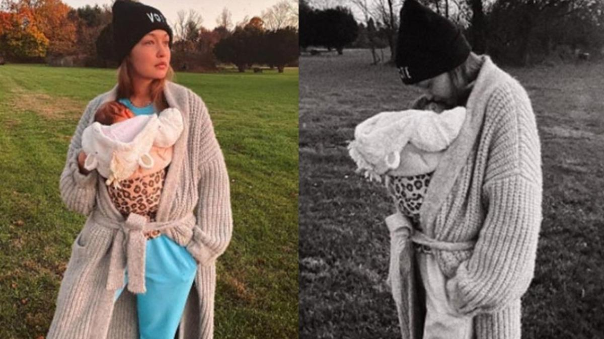 Taze anne Gigi Hadid kızıyla paylaştı: O en iyi arkadaşım!