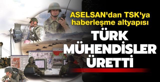 Testleri geçti: ASELSAN'dan TSK'ya haberleşme altyapısı