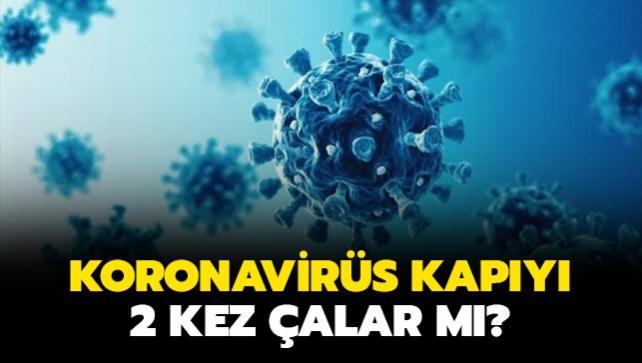 Koronavirüs ikinci kez bulaşır mı?