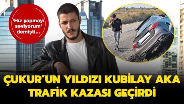 Kubilay Aka 'Hız yapmayı seviyorum' dediği gün kaza yaptı!