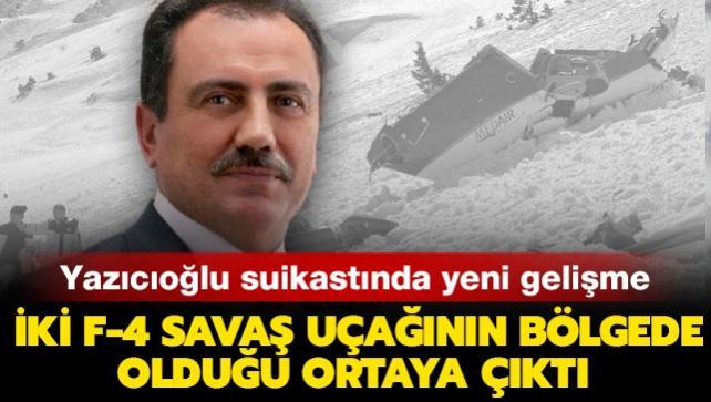 Muhsin Yazıcıoğlu'nun ölümüyle ilgili yeni gelişme: İki F-4 savaş uçağının bölgede olduğu ortaya çıktı