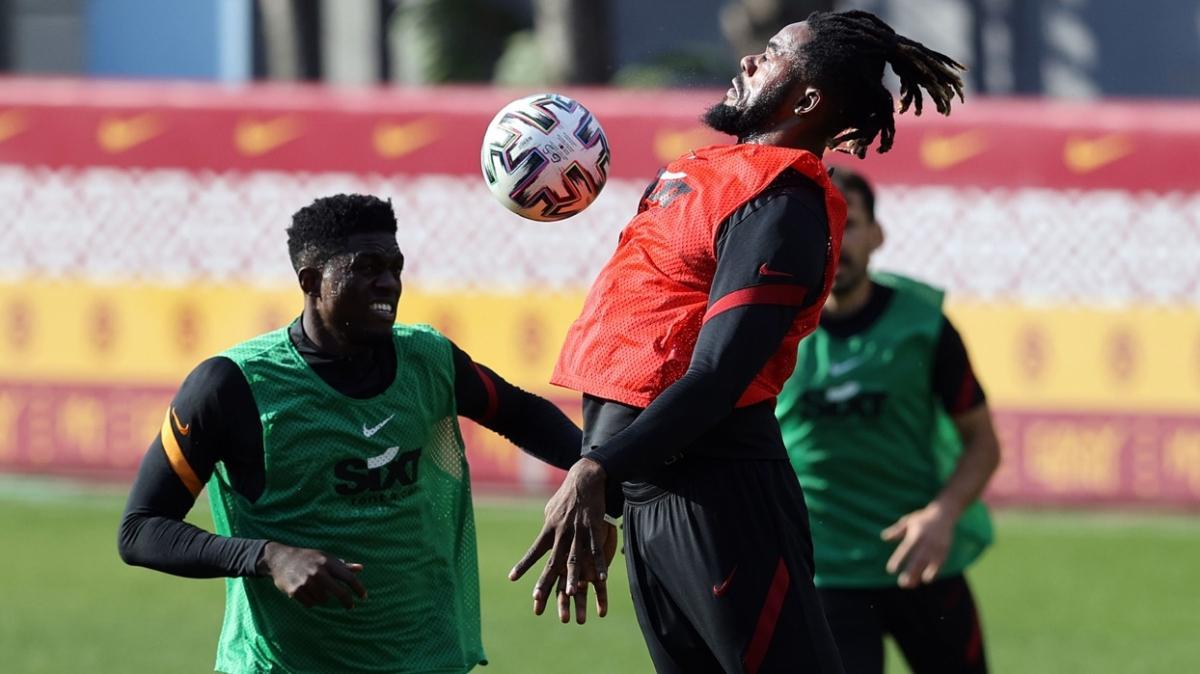 Galatasaray, Rizespor maçının hazırlıklarına ara vermeden başladı