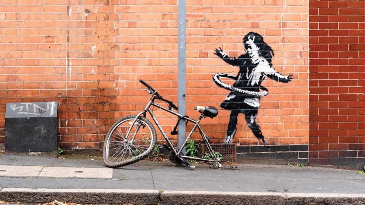 Grafiti sanatçısı Banksy'nin bisikleti çalındı