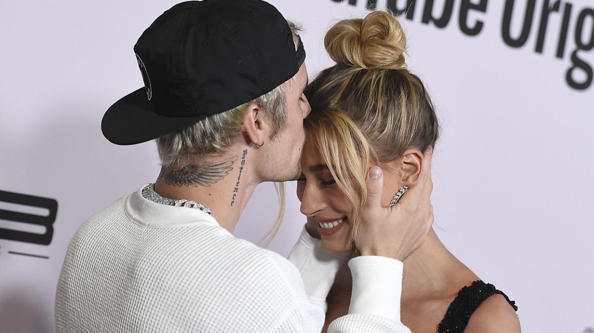 Justin Bieber'den eşi Hailey Baldwin'e romantik kutlama: Gözlerim, kalbim, ruhum senin için...