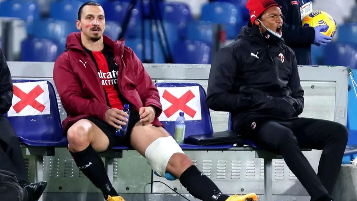 Milan'da Zlatan Ibrahimovic 6 maçı kaçıracak