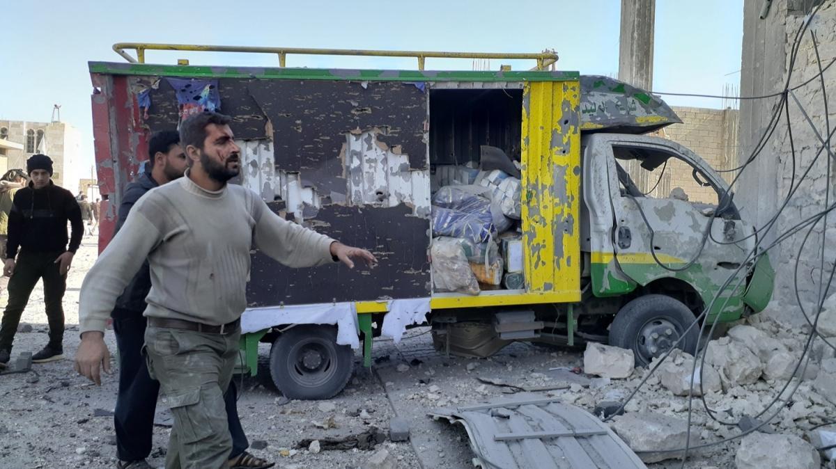 Suriye'nin kuzeyindeki Bab'da bombalı terör saldırısı