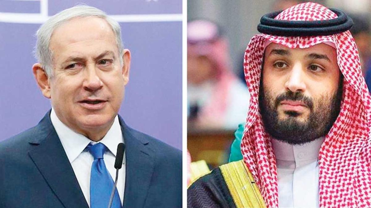 Suudi Arabistan'da gizlice buluştular