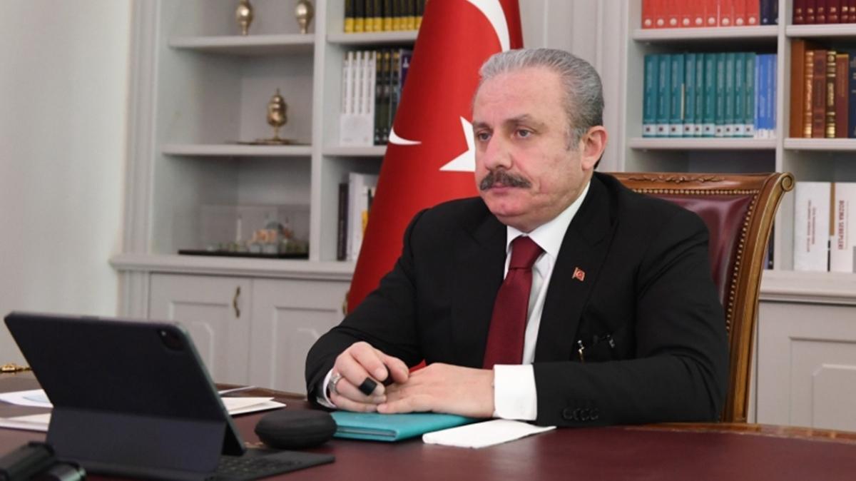 TBMM Başkanı Şentop: Avrupa ülkeleri mülteciler konusunda Türkiye'yi yeterince desteklemiyor