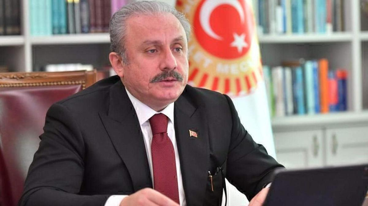 TBMM Başkanı Şentop, Tekirdağ'daki öğretmenlerle bir araya geldi