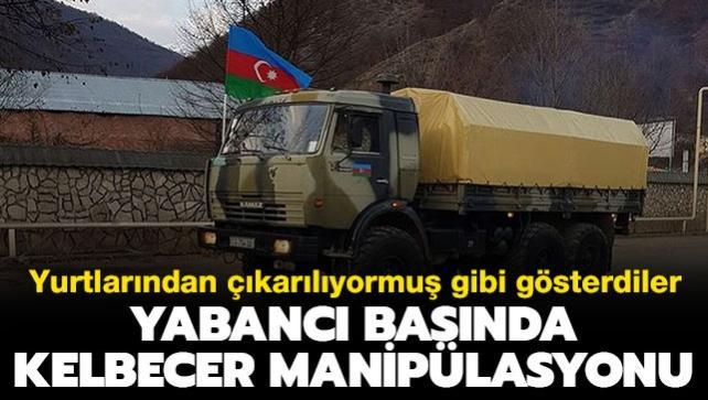 Azerbaycan ordusu Kelbecer'de... İşte bölgedeki son gelişmeler