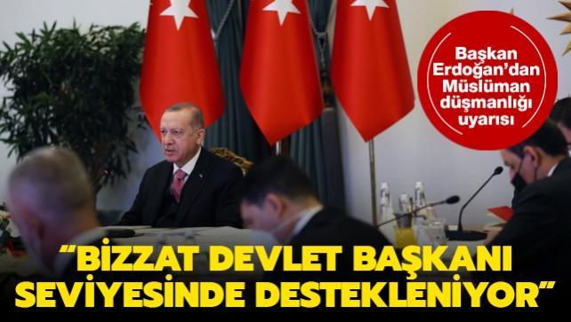 Başkan Erdoğan'dan uyarı: Sessiz kalmamız mümkün değil