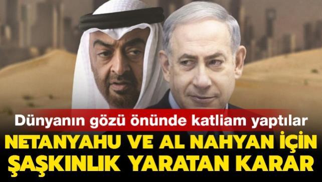 Dünyanın gözü önünde katliam yaptılar! Netanyahu ve Al Nahyan 2021 Nobel Barış Ödülü'ne aday gösterildi
