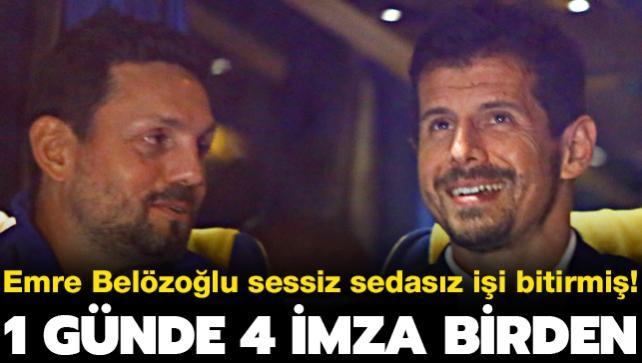 Belözoğlu sessiz sedasız 4 futbolcuya imza attırmış! 1 günde işi bitirdi