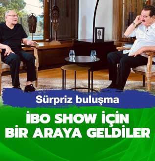 İbo Show için İbrahim Tatlıses ve Mehmet Ali Erbil bir araya geldi