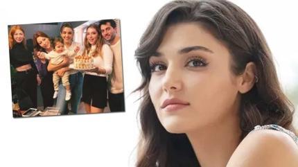 Sen Çal Kapımı'nın Eda'sı Hande Erçel 27. yaşını ailesiyle kutladı