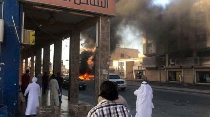Suudi Arabistan'da patlama meydana geldi