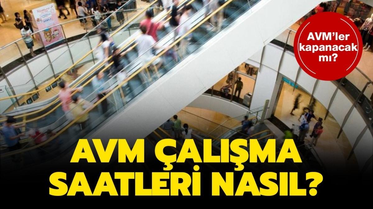 """AVM çalışma saatleri 2020: AVM'ler saat kaçta açılıyor ve kapanıyor"""""""