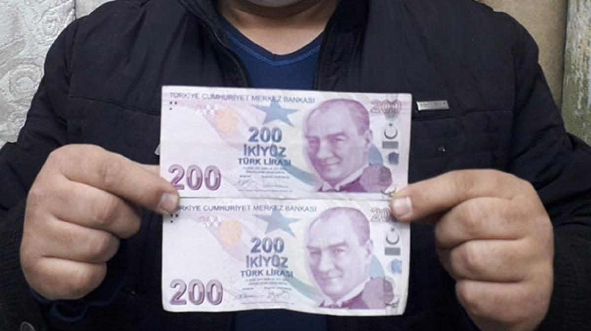 Baskı hatalı parayı iade etmeyi kabul etmedi: Hatalı basım 200 TL'yi satışa çıkardı