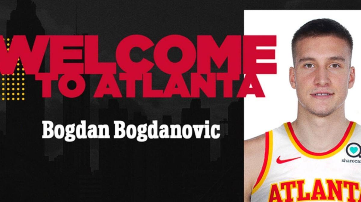 Bogdan Bogdanovic resmi olarak Atlanta Hawks'ta