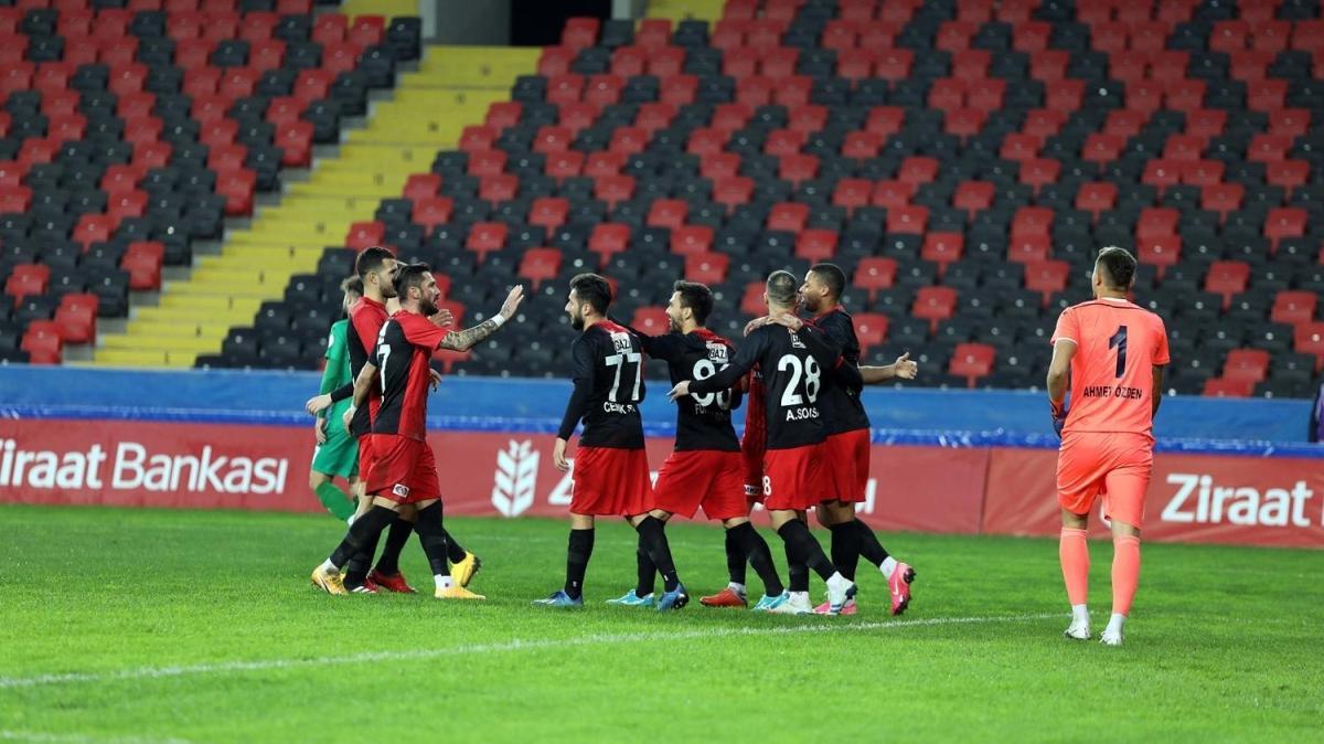 Gaziantep FK, zorlanmadan turladı