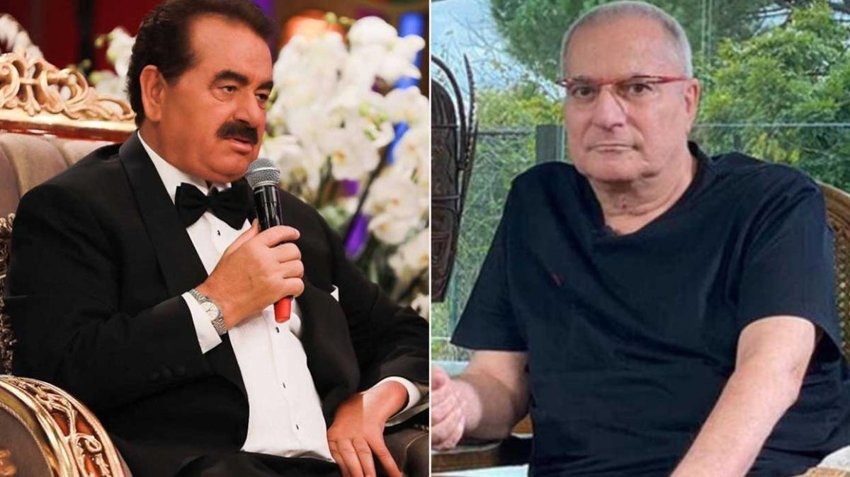 İbrahim Tatlıses ve Mehmet Ali Erbil'den sürpriz buluşma! İbo Show için bir araya geldiler