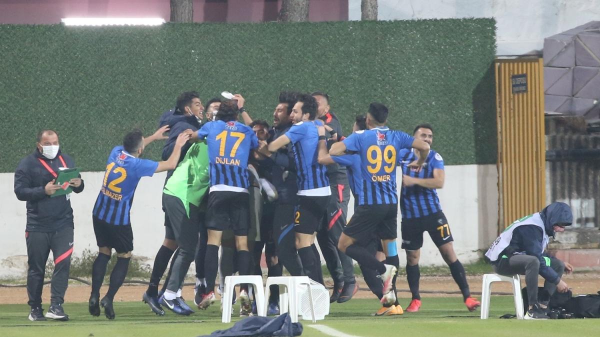 Karacabey Belediyespor'dan kupada sürpriz