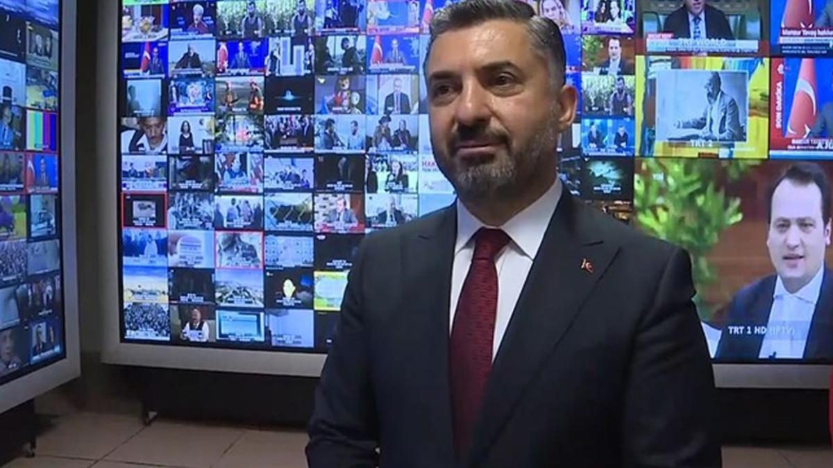RTÜK Başkanı Şahin: Yayınlardaki şiddet içerikleriyle mücadelemiz kararlılıkla sürecek