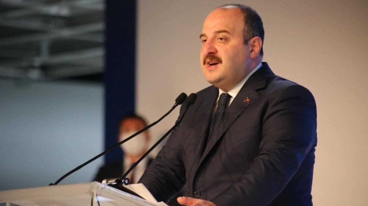 """Sanayi ve Teknoloji Bakanı Varank: """"Türkiye, rüzgar türbini ekipman üretiminde Avrupa'da ilk 5'te yer alıyor"""""""