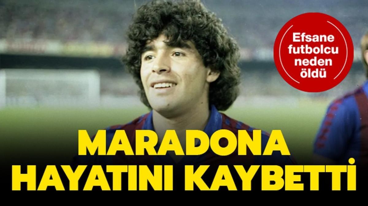 """Maradona kimdir, kaç yaşında, neden öldü"""" Ünlü futbolcu Maradona hayatını kaybetti!"""