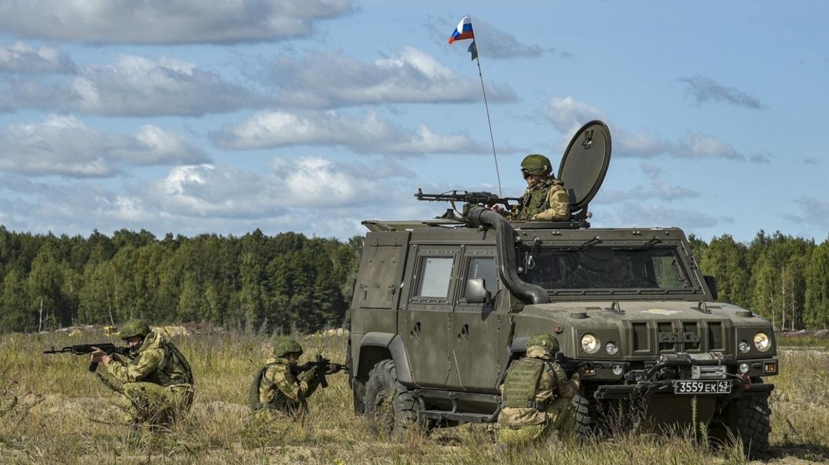 Tacikistan'daki Rus askeri üssünde tatbikat: 3 binden fazla asker katılıyor